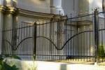 Забор кованый. Москва