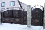 Кованые ворота 23