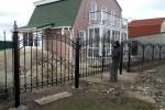 Кованый забор. Рязанская область, п. Английский Рожок, 4500 руб/м2