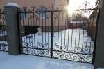 Ворота кованые. Рязанская область, Аксёново