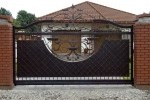 Кованые ворота 43
