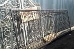 Кованые ворота. г. Москва