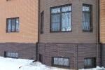 Кованые решётки на окна. Рязанская область, п. Алеканово.