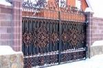 Кованые ворота 44