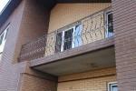 Балкон кованый. Московская область, Луховицы