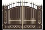 Кованые ворота 03
