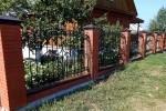 Забор кованый. Московская область, Носово