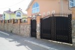 Кованые ворота+калитка, Рязанская область, п. Дядьково, 15500 руб/м2