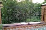 Кованый забор. Рязанская область, п. Захарово, 4600 руб/м2