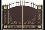 Кованые ворота 01