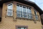 Кованый балкон. Рязанская область, д. Константиново.