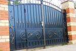 Кованые ворота с калиткой, Рязанская область, 15500 руб/м2