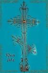 Крест кованый №4