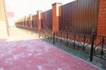 Кованое газонное ограждение, г. Рязань, 2700 руб/м.п.