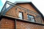 Балкон кованый. Рязанская область, Шахманово