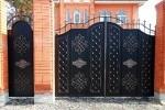 Ворота кованые. Рязань
