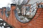 Забор кованый. Московская область, Нижнее Маслово