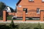 Кованый забор. Алпатьево