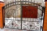 Ворота кованые. Рязанская область, Рыбное
