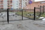 Ворота кованые+забор. Рязань