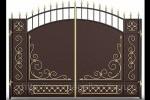 Кованые ворота 02