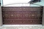 Кованые ворота. г. Рязань.