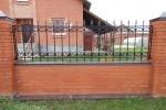 Забор кованый. Московская область, Газопроводск