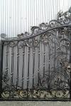 Кованые ворота, г. Москва.