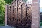 Кованые ворота 42
