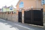 Кованые ворота 40