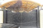Кованые ворота. Семчино